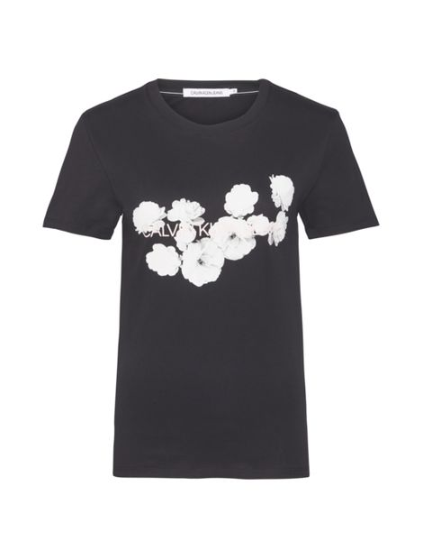 Camiseta-slim-con-logo-floral
