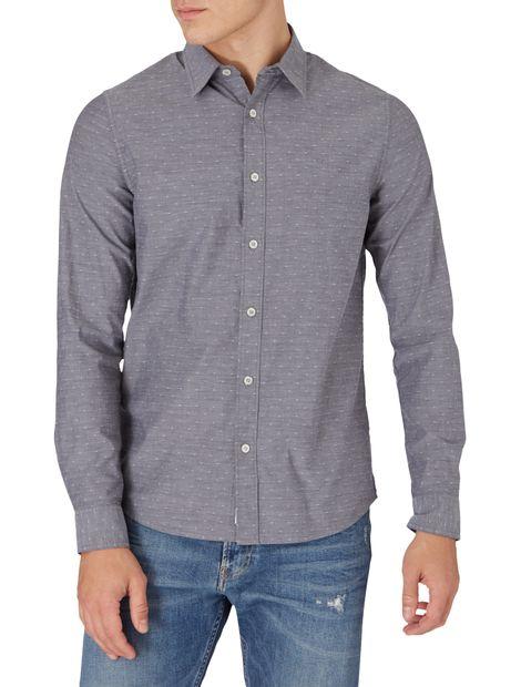 Camisa-slim-estilo-dobby